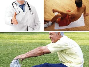 Какие упражнение помогают при эректильная дисфункция?