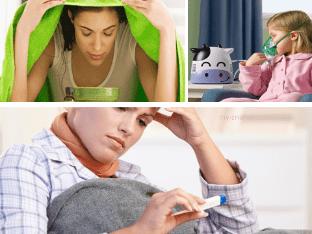 Как быстро избавится от простуды и гриппа при помощи ингаляции?