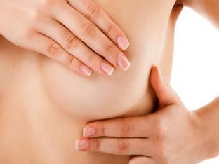 Как делать массаж груди при мастопатии?