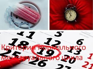 Менструальный цикл: норма, сбои, нарушения
