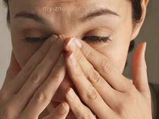 Основные симптомы гайморита у взрослых людей