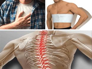 Остеохондроз грудной клетки, что делать?