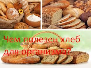 Чем полезен хлеб для организма