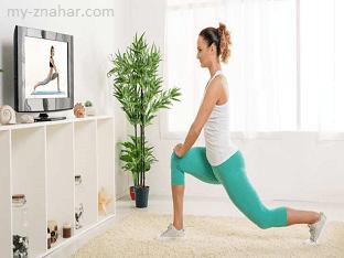 Как сбросить лишние килограммы перед экраном телевизора