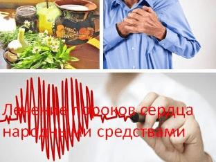 Лечение пороков сердца народными средствами