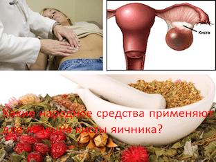 Лечение придатков (воспаления яичников) народными средствами