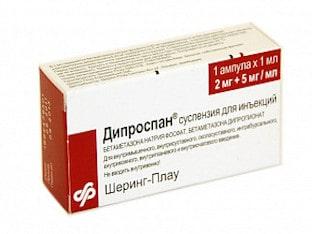 Показания к применению Дипроспан