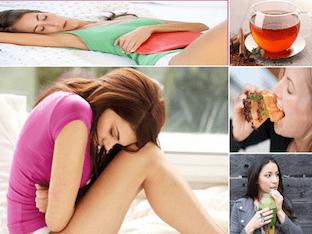 Какие средства помогают от боли в животе при месячных