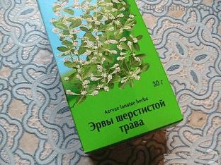 Чем полезна эрва шерстистая (пол-пала)