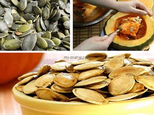 Как избавиться от глистов тыквенными семечками