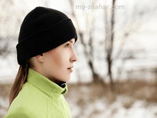 Почему в морозное время необходимо носить теплую шапку