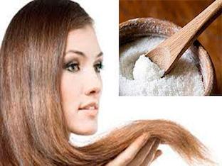 Солевая маска для укрепления волос