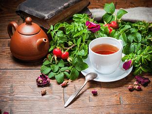 Чем полезен чай с шиповником
