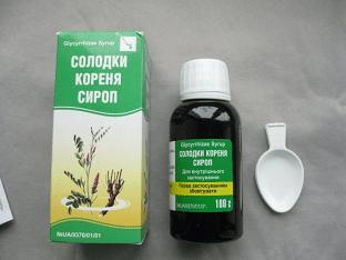 Сироп солодки - от чего помогает: лечение кашля и очистка лимфы