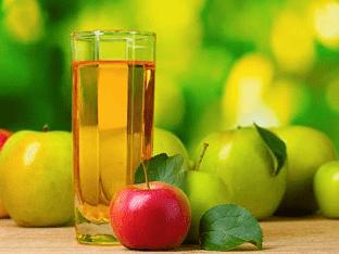 Как правильно пить яблочный сок?