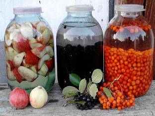 Как сделать настойку из фруктов?