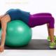 Фитбол для укрепления мышц спины и улучшения осанки