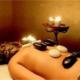 Сочетание холодных и горячих камней для массажа