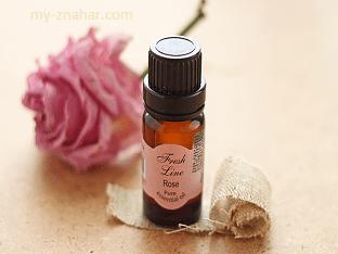 В чем польза эфирного масла розы