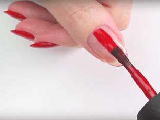 Как красиво накрасить ногти самой себе