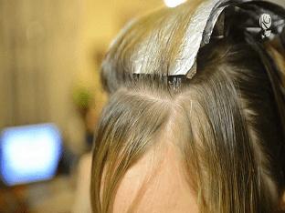 Как сделать мелирование волос себе самой